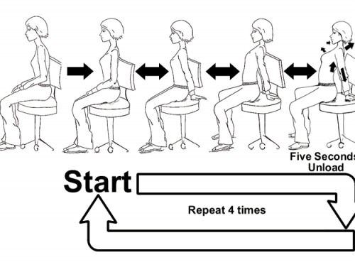 Supported Extension Exercise for Sitting